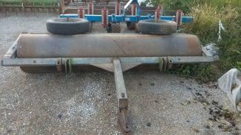 Rodillo arrastrado de hierro, de 2.80m de labor