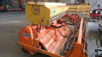 Fresa HOWARD modelo HI-100 de 2.50m de labor con sembradora RIMASA - 2