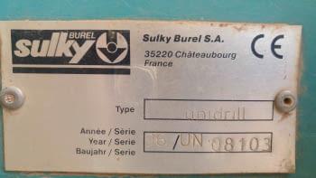 Sembradora directa SULKY modelo UNIDRILL de 3.00m - 6