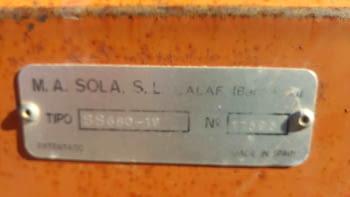 Sembradora SOLÀ modelo 680 - 3