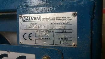 Ensofradora BALVEN de 450 litros, de 2 salidas - 4