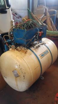 Compresor para la poda TEYME de 600 Litros - 1