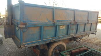 Remolque basculante hidraulico de 5.000 kgs de carga - 2