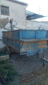 Remolque basculante hidraulico de 5.000 kgs de carga - 4