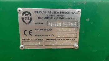 Sembradora de siembra  directa GIL modelo AIRSEM de 6.00m - 10