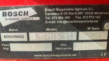 Chisel BOSCHMAQ de 3.00m - 4