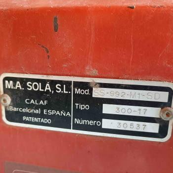 Sembradora directa SOLA modelo SUPER 992 SD - 4