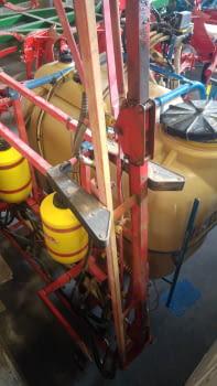 Ensolfatadora AGUIRRE de 1500 litros, barras hidráulicas de 12m. - 4