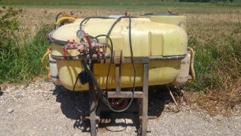 Ensolfatadora MAKATO de 600 litros