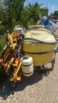 Ensolfatadora MAKATO de 600 litros - 2