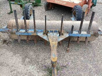 Rodillo de hierro de 2.50m - 1