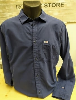 Camisa TOMMY JEANS blue