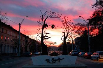 The poet Eminescu. Romania.