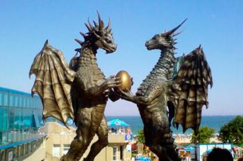 The dragons in love. Bulgaria.