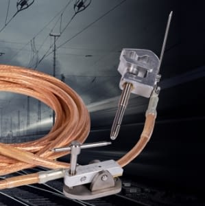 New earthing equipment for railway system