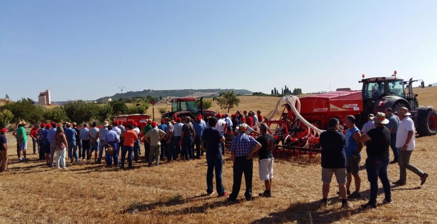 Field demonstration (14.09.18): VESTA-2713