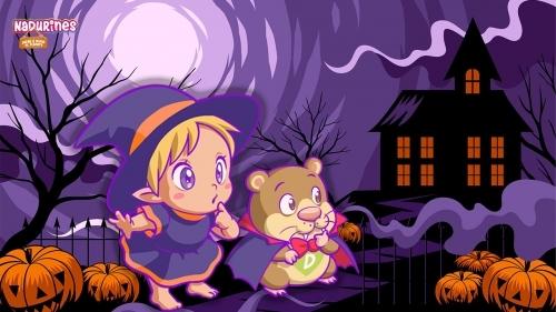 ¡Feliz Halloween! Darwin cuenta una misteriosa historia a los Nadurines