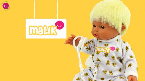 ¡Te presentamos al muñeco MALIK!