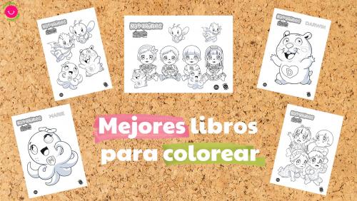 Los mejores libros infantiles para colorear