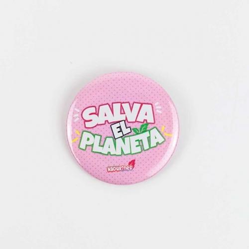 """Chapa solidaria """"SALVA EL PLANETA"""" - 1"""