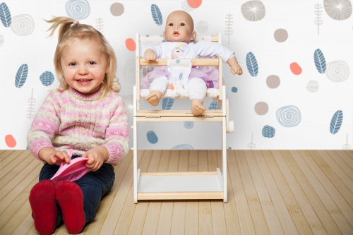 Trona para muñecas Nadurines - 4