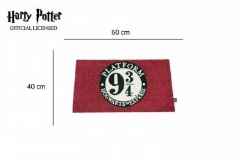 Porte tapis Harry Potter 9 3/4 - 1