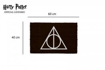 Porte tapis Harry Potter - Deathly Hallows - 1