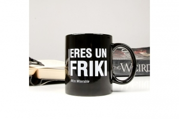 Taza FRIKI by Miss Miserable