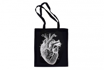 "Tote bag ""Anatomical Heart"" by Milimetrado"