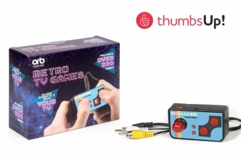 Retro TV Games Controler by ThumbsUp UK
