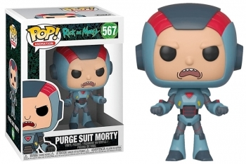 Figura Funko Pop! Purge Suit Morty  (Rick & Morty)