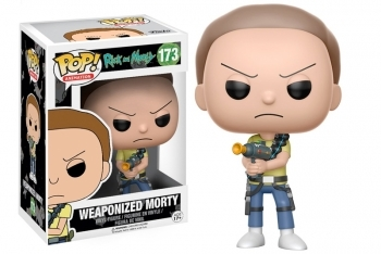 Figura Funko Pop! POP! Animation Weaponized Morty (Rick & Morty)