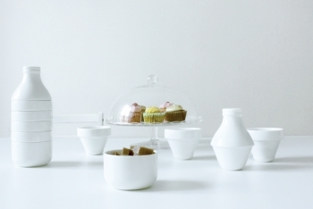 WithMilk Porcelain Set by Doiy