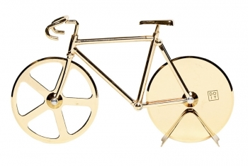 The Fixie: Cortador de Pizza ORO by Doiy