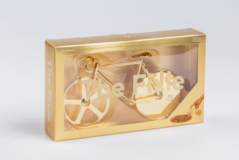 The Fixie: Cortador de Pizza ORO by Doiy - 1
