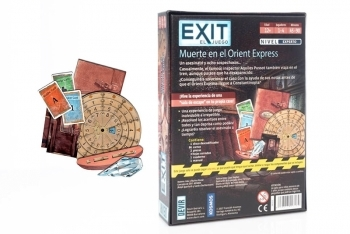 EXIT: Dead Man on the Orient Express (spanish edition) - 2