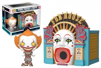RESERVAR - Figura Funko Pop! IT: CHAPTER 2 - POP TOWN DEMONIC PENNYWISE & FUNHOUSE