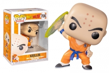 Figura Funko Pop! Krillin - Destructo Disc (Dragon Ball Z)