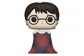 Figura Funko Pop! Harry amb capa de invisibilitat