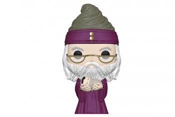 Figura Funko Pop! Dumbledore con el pequeño Harry
