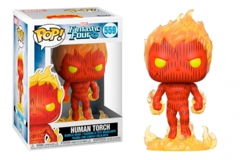 Figura Funko Pop! Fantastic 4 - Human Torch