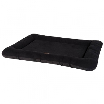 CAMA BASIC MATTRESS BORDURE SUEDE NEGRO