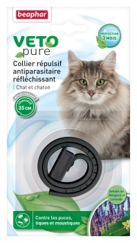 COLLAR REPELENTE REFLECTANTE GATO