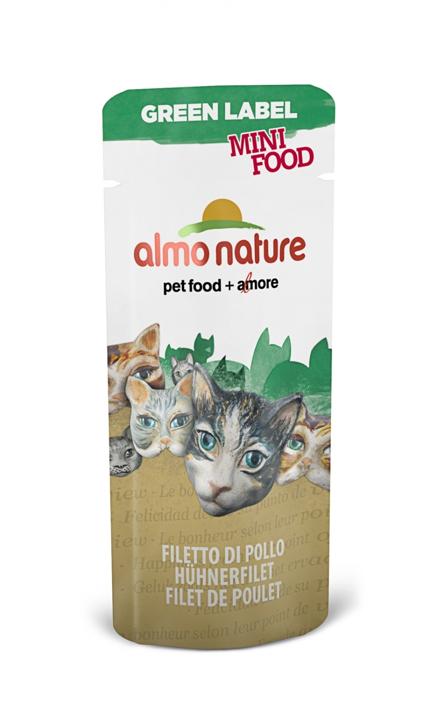 CAT HFC GREEN MINI FOOD 3G