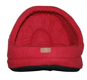 CAPAZO SUEDE DOME BASIC LINE CAT ROJO - 1