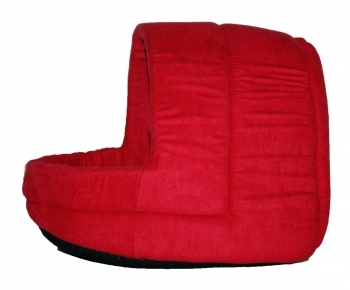 CAPAZO SUEDE DOME BASIC LINE CAT ROJO - 2