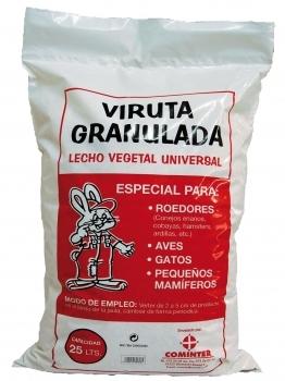 VIRUTA GRANULADA 25L / 12Kg