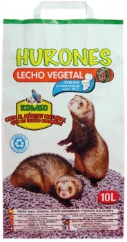 LECHO VEGETAL PAPEL HURONES