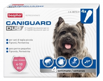 CANIGUARD DUO S 4-10KG