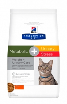 HILL'S PRES. DIET FELINE C/D URINARY STRESS+METABOLIC